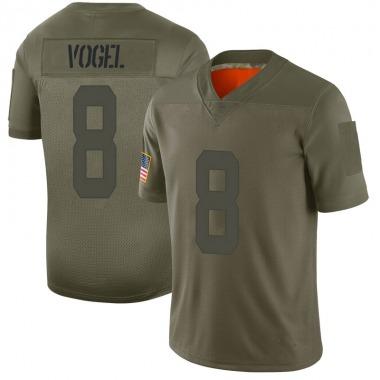 Men's Nike San Francisco 49ers Justin Vogel 2019 Salute to Service Jersey - Camo Limited