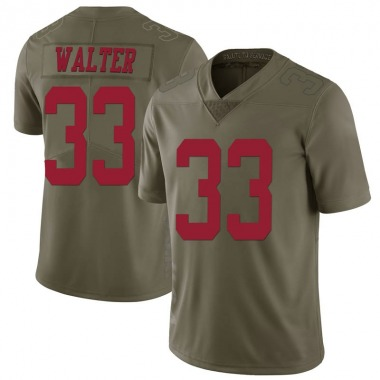 Youth Nike San Francisco 49ers Austin Walter 2017 Salute to Service Jersey - Green Limited