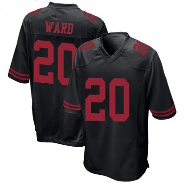 Youth Nike San Francisco 49ers Jimmie Ward Alternate Jersey - Black Game