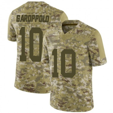 Youth Nike San Francisco 49ers Jimmy Garoppolo 2018 Salute to Service Jersey - Camo Limited