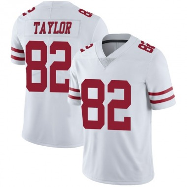 Youth Nike San Francisco 49ers John Taylor Vapor Untouchable Jersey - White Limited
