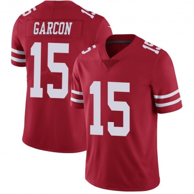 Youth Nike San Francisco 49ers Pierre Garcon Team Color Vapor Untouchable Jersey - Red Limited